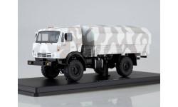 КАМАЗ-43502 Мустанг камуфляж Арктика  SSM
