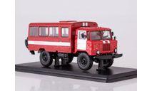 Вахтовый автобус (66), пожарная служба   SSM, масштабная модель, Start Scale Models (SSM), ГАЗ, scale43