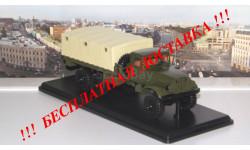 КРАЗ-214 бортовой с тентом   SSM