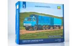 Сборная модель КАМАЗ-5320 с прицепом ГКБ-8350  AVD Models KIT, масштабная модель, 1:43, 1/43