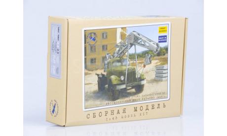 Коробка сборная модель  ЛАЗ-690, 1955 г.  AVD, боксы, коробки, стеллажи для моделей, AVD Models