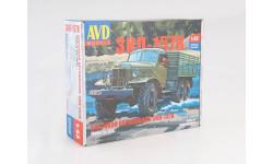 Сборная модель ЗИЛ-157К бортовой  AVD Models KIT, сборная модель автомобиля, scale43, Автомобиль в деталях (by SSM)