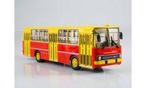 Икарус-260 (жёлто-красный) Икарус  СОВА, масштабная модель, Советский Автобус, Ikarus, scale43