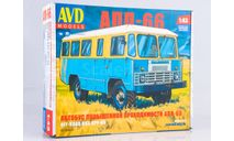 Сборная модель Автобус повышенной проходимости АПП-66  AVD Models KIT, масштабная модель, 1:43, 1/43