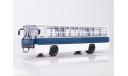 Ikarus-260 бело-синий   Икарус  СОВА, масштабная модель, Советский Автобус, scale43