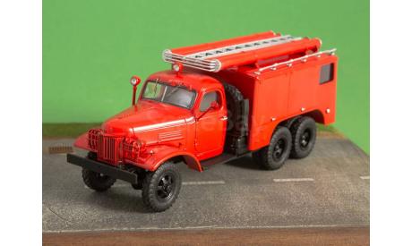 Пожарный автомобиль химического пенного тушения ПМЗ-16   ModelPro, масштабная модель, ЗиС, scale43