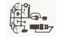 Сборная модель КРАЗ-255В cедельный тягач  AVD Models KIT, масштабная модель, 1:43, 1/43