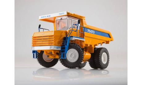 БелАЗ-75473 SSM, масштабная модель, scale43, Start Scale Models (SSM)
