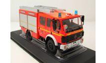 MERCEDES-BENZ 1224 LF 16/12 Fire Brigade Hamburg 'FF Hohendeich' 1995  IXO, масштабная модель, scale43