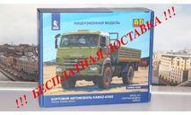 Сборная модель КАМАЗ-43502  4x4 Мустанг (рестайлинг)  AVD Models KIT, масштабная модель, scale43, Автомобиль в деталях (by SSM)