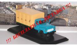 ГЗСА-3704 (52) ХЛЕБ  ранняя облицовка радиатора   SSM, масштабная модель, 1:43, 1/43, Start Scale Models (SSM), ГАЗ