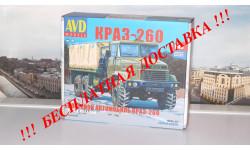 Сборная модель КРАЗ-260 бортовой (поздний)    AVD Models KIT