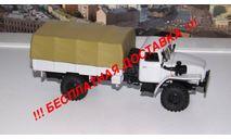 УРАЛ 43206 4х4 с тентом АИСТ, масштабная модель, scale43, Автоистория (АИСТ)