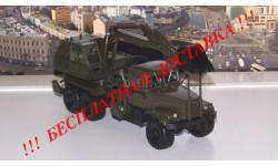 КРАЗ 6322 ЭОВ-4422 Экскаватор, хаки  НАП, масштабная модель, Наш Автопром, scale43