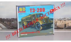 Сборная модель Топливозаправщик Т3-200  AVD Models KIT