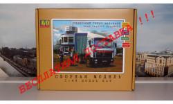 Сборная модель МАЗ 6422 седельный тягач   AVD Models KIT, масштабная модель, 1:43, 1/43, Автомобиль в деталях (by SSM)
