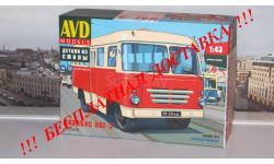 Сборная модель Автобус КАГ-3 AVD Models KIT