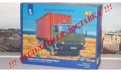Сборная модель КАМАЗ-53212 контейнеровоз AVD Models KIT, масштабная модель, scale43