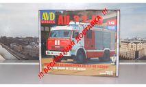 Сборная модель АЦ-3,2-40 ( КАМАЗ 43253) AVD Models KIT, масштабная модель, scale43