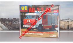 Сборная модель АЦ-3,2-40 ( КАМАЗ 43253) AVD Models KIT