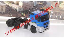 КАМАЗ-65206 седельный тягач ПАО КАМАЗ, масштабная модель, 1:43, 1/43