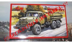 Сбрная модель ЗиЛ-131 Бензозаправщик ICM, масштабная модель, 1:72, 1/72