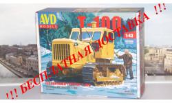 Сборная модель Гусеничный трактор Т-100 AVD Models KIT