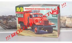 Сборная модель Пожарный автомобиль ПМЗ-16 AVD Models KIT