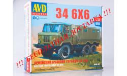 Сборная модель Армейский грузовик 34 6x6 AVD Models KIT