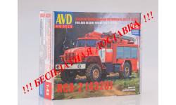 Сборная модель Пожарно-спасательный автомобиль ПСА-2 (4320)  AVD Models KIT