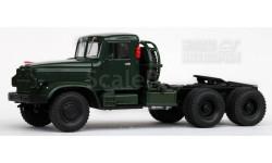 КРАЗ-221Б тягач зелёный 1963-1966 год 1/43 НАП Н776