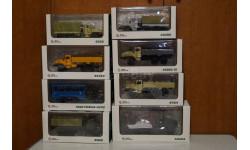 Коллекция моделей УРАЛ 1/43 АИСТ Автоистория, масштабная модель, Автоистория (АИСТ), scale43