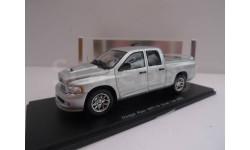 DODGE RAM SRT-10 Quad Cab Silver  4х4 WD 1/43 Spark