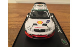 1/43 Skoda Fabia WRC Rally Colin McRae Abrex, масштабная модель, 1:43