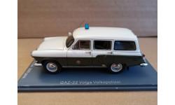 ГАЗ М22  'VOLKSPOLIZEI', масштабная модель, Neo Scale Models, scale43