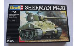 Sherman M4A1, сборные модели бронетехники, танков, бтт, 1:72, 1/72, Revell