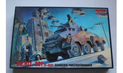 Sd.Kfz. 231 (6-Rad) Schwerer Panzerspahwagen, сборные модели бронетехники, танков, бтт, 1:72, 1/72, Roden