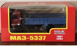 МАЗ-5337 бортовой 1987-1994 НАП, масштабная модель, Наш Автопром, 1:43, 1/43