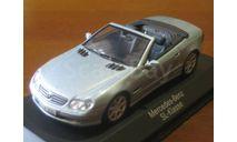 Mercedes Benz SL-class Minichamps, масштабная модель, Mercedes-Benz, 1:43, 1/43