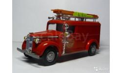 GMC fire van Matchbox, масштабная модель, 1:43, 1/43