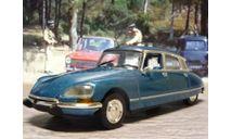 Citroen DS 23 Pallas en métallisé bleu Norev, масштабная модель, Citroën, scale43