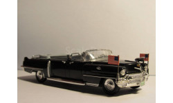 Cadillac limousine Queen Elizabeth II 1955, масштабная модель, 1:43, 1/43, Atlas, Lincoln Continental Sunshine Special