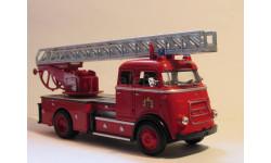 DAF A1600 Fire Engine Zaanstad 1962, масштабная модель, Signature, scale43