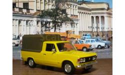 Polski Fiat 125P pick up, масштабная модель, DeAgostini, scale43