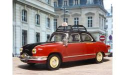 PANHARD DYNA Z TAXI PARIS 1953, масштабная модель, 1:43, 1/43, Altaya