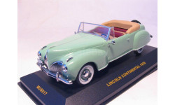 Lincoln Continental, 1939,  IXO, масштабная модель, 1:43, 1/43