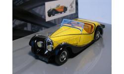 Voisin C27 Grant Sport Cabriolet, 1934, Minichamps, масштабная модель, scale43