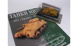 M3 Grant Mk.1, журнальная серия Танки Мира 1:72, 1/72