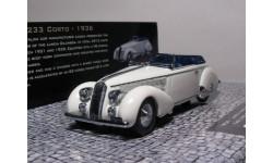 Lancia Astura Type 233 Corto, 1936, масштабная модель, 1:43, 1/43