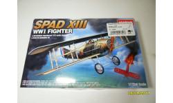 Истребитель одноместный Spad XIII, сборные модели авиации, 1:72, 1/72, Academy